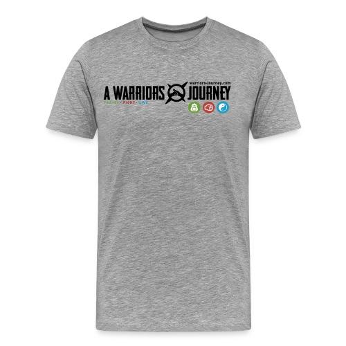shirt logo 2 png - Männer Premium T-Shirt