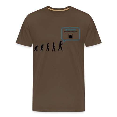 Social network evolution - Maglietta Premium da uomo