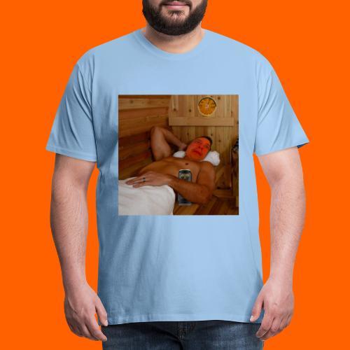 OrangeFullTopi - Miesten premium t-paita
