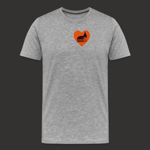 We love Kleinbrüchter Ruckbeutel - Männer Premium T-Shirt