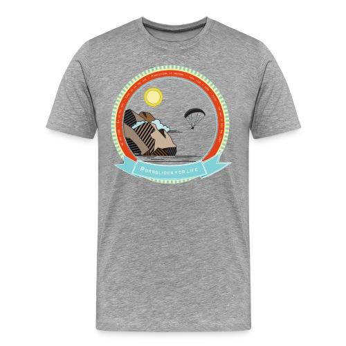 Le parapente c'est la liberté - T-shirt Premium Homme
