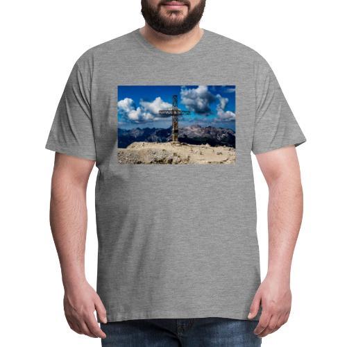 Gipfelkreuz - Männer Premium T-Shirt