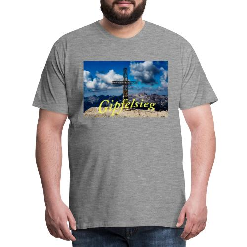 Gipfelsieg - Männer Premium T-Shirt
