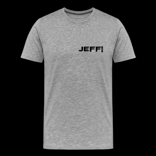Jeff bob (small logo) - Men's Premium T-Shirt