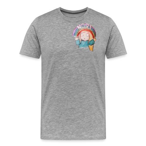 Nope. - Men's Premium T-Shirt