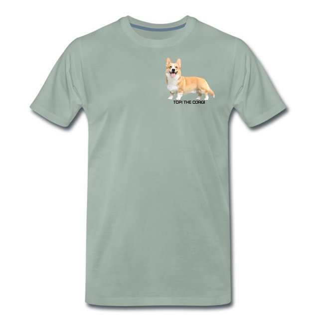 Topi the Corgi - Black text