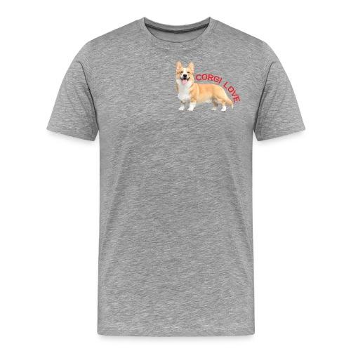 CorgiLove - Men's Premium T-Shirt