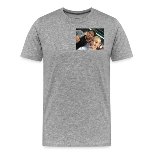 a pic with youtuber - Men's Premium T-Shirt