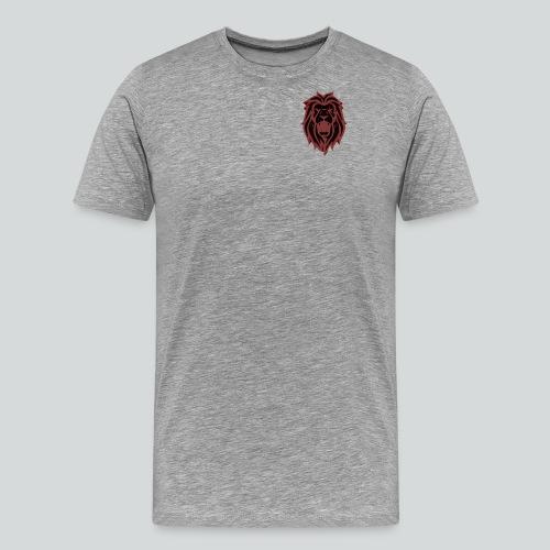 HAHN - RED - Herre premium T-shirt