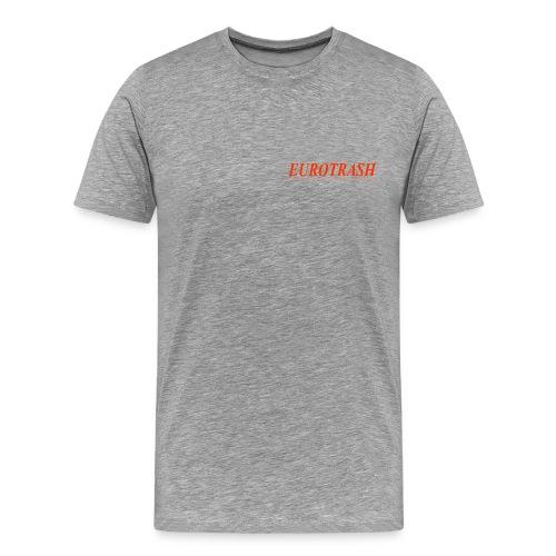 Eurotrash orange - Männer Premium T-Shirt
