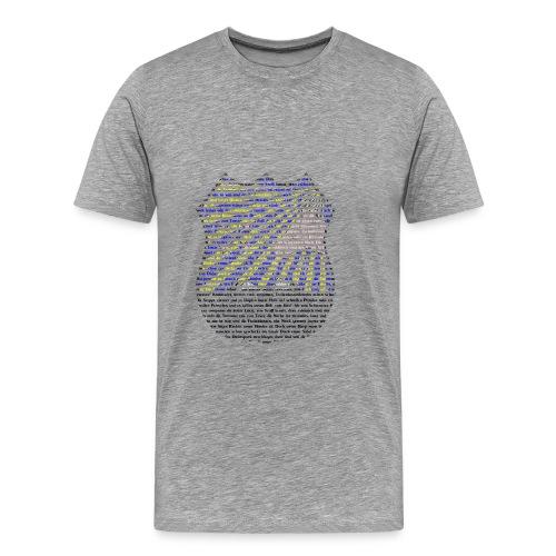 Tscherkessenlogo - Männer Premium T-Shirt