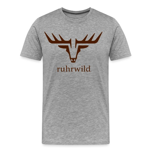 ruhrwild hirsch - Männer Premium T-Shirt