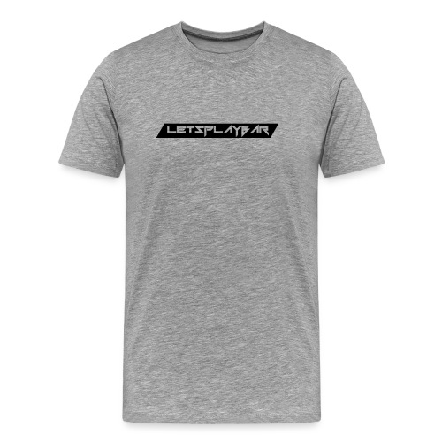 Letsplaybar Merch Schwarz - Männer Premium T-Shirt