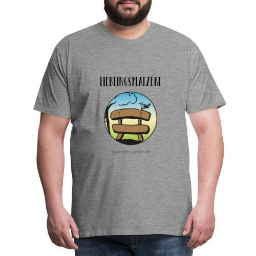Lieblingsplatzerl MeinBankerl - Männer Premium T-Shirt