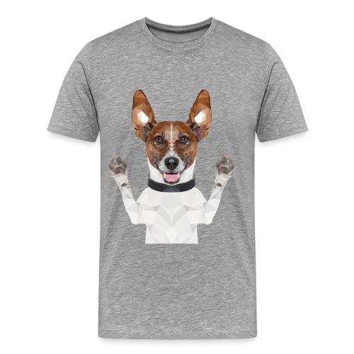 Funny dog - Männer Premium T-Shirt