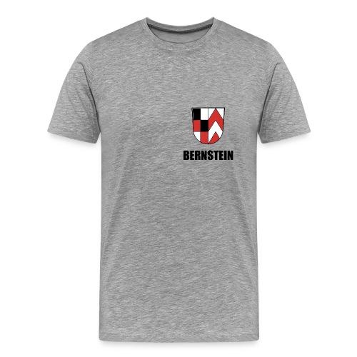 Bernstein- Wappen - Männer Premium T-Shirt