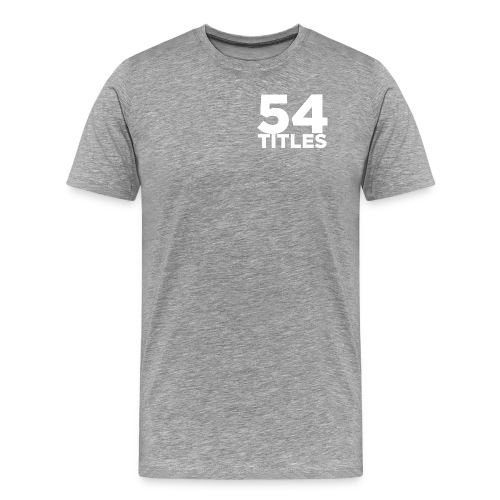 54 Titles - Men's Premium T-Shirt