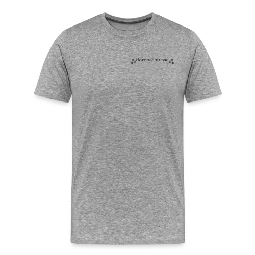 notenschluessel transparent png - Männer Premium T-Shirt