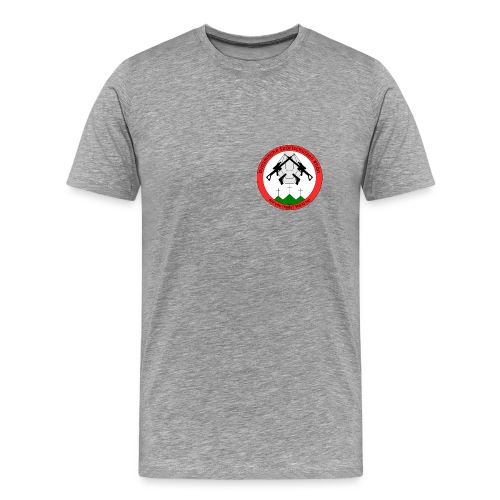Logo Dynamische Sportschuetzen Rhoen DSR - Männer Premium T-Shirt