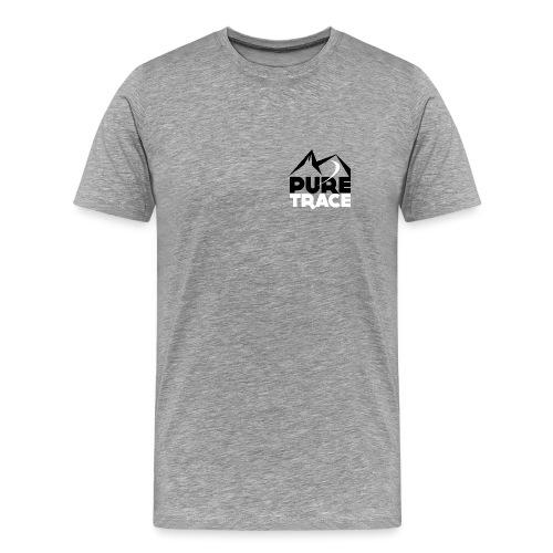 Logo-PURE_TRACE-webN&B-sq - T-shirt Premium Homme