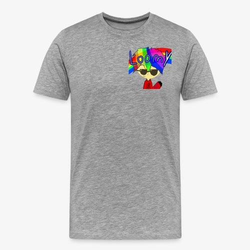 Loomy Plays Merch - Men's Premium T-Shirt