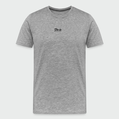 flolo durchgestrichen - Männer Premium T-Shirt
