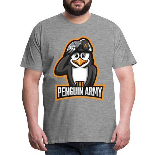 The Penguin Army Logo - Männer Premium T-Shirt