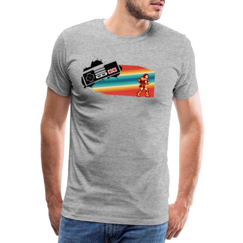 NES 80s CASTLEVANIA - Camiseta premium hombre