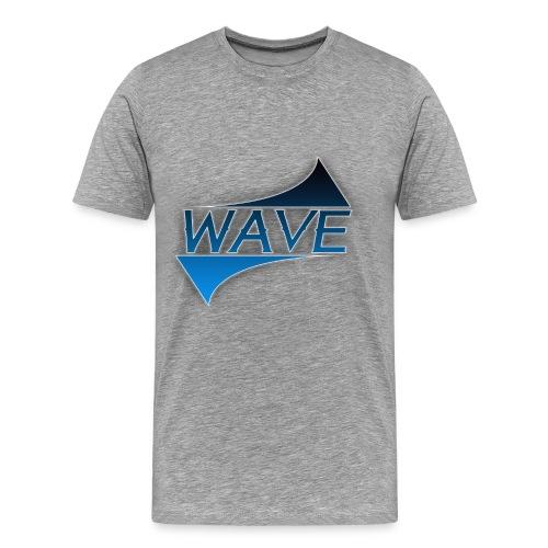 LOGO WAVE png - Men's Premium T-Shirt