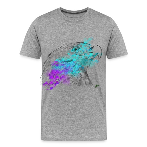 Aquila color - Maglietta Premium da uomo