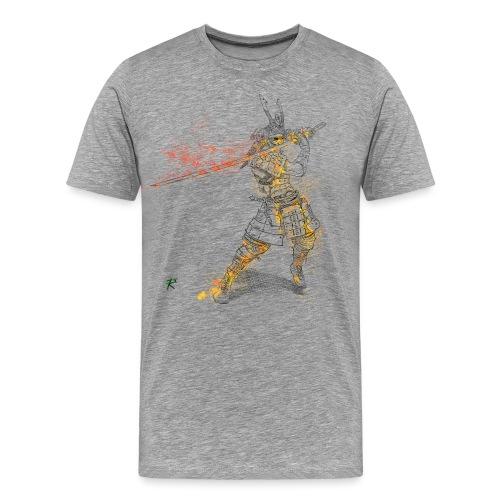 Samurai color - Maglietta Premium da uomo