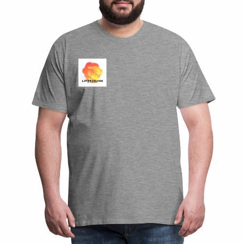Lifebuilder Löwe - Männer Premium T-Shirt