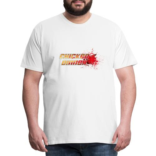 Chicken Dinner - Männer Premium T-Shirt