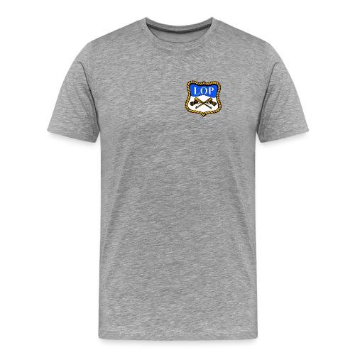 LOP LOGO - Premium T-skjorte for menn