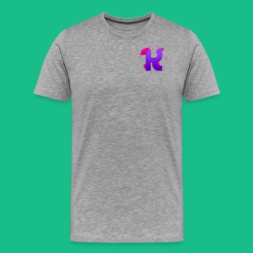 youtube logo shirt png - Men's Premium T-Shirt