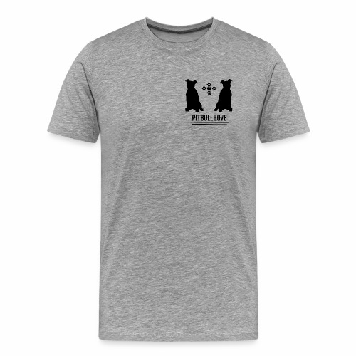 Pitbull Pitti Pitty Pitbullterrier Hundedesign - Männer Premium T-Shirt