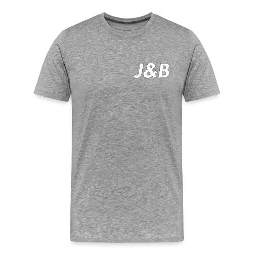 J&B - Camiseta premium hombre