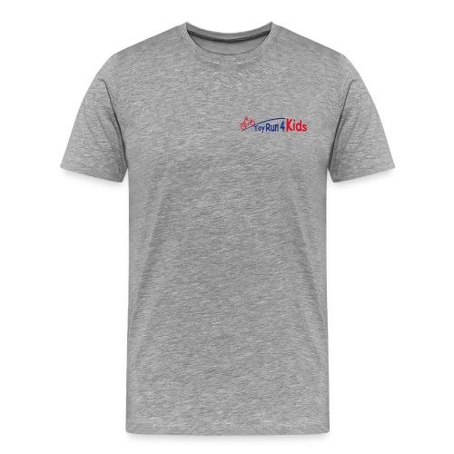 ToyRunLogo vorne klein und hinten groß - Männer Premium T-Shirt