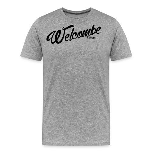 Welcombe - Devon - Men's Premium T-Shirt