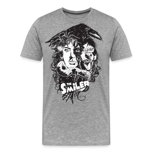 BnG-2col - Premium T-skjorte for menn