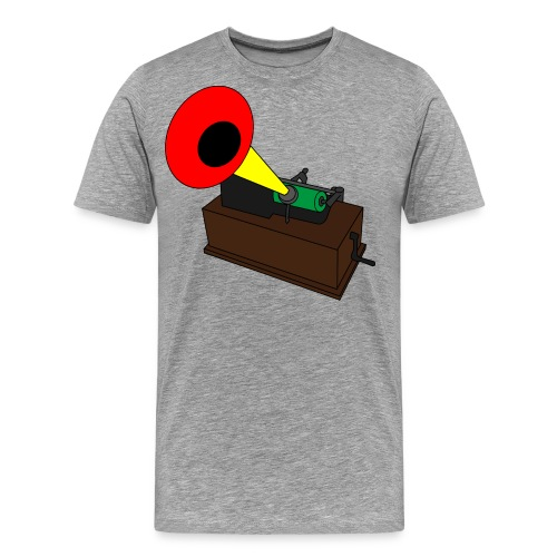 Cylinder Phonograph - Men's Premium T-Shirt