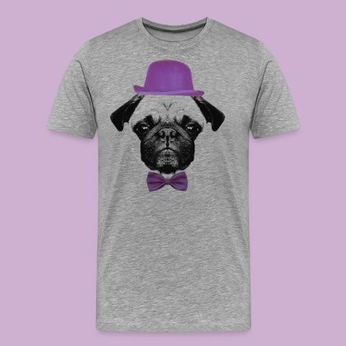 Mops Puppy - Männer Premium T-Shirt