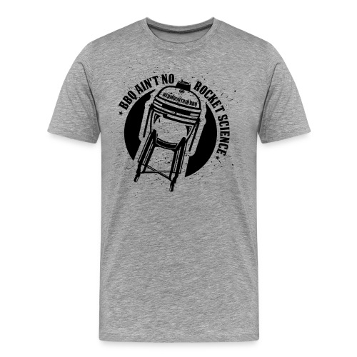 bbq_3950px_black - Männer Premium T-Shirt
