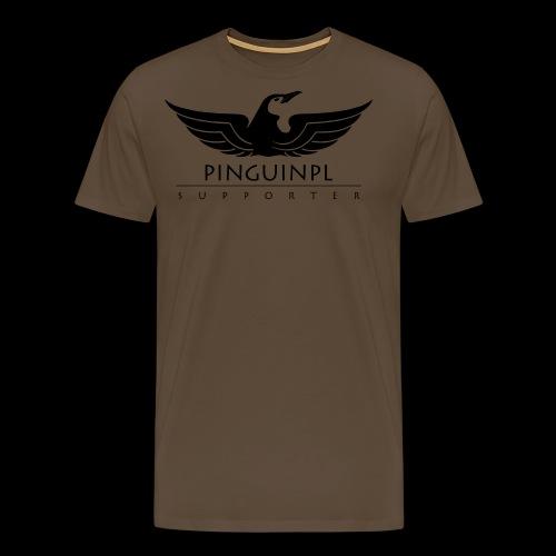 zwolennikiem Blackline - Koszulka męska Premium