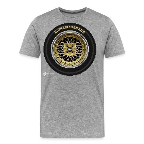 SSR FM white logo - Men's Premium T-Shirt