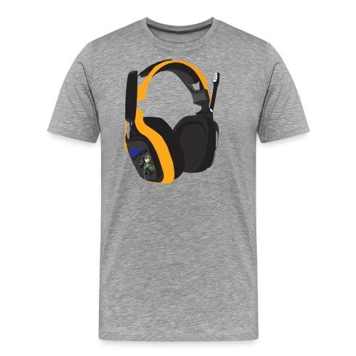 headsetcopy png - Men's Premium T-Shirt