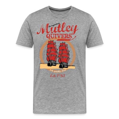 Two Ships vintage style - Men's Premium T-Shirt