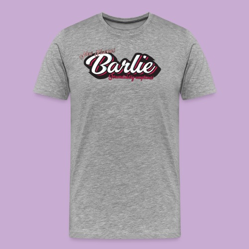 BarlieScrum png - Men's Premium T-Shirt