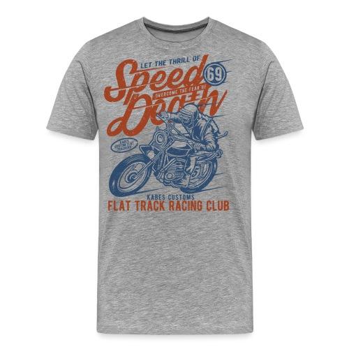 Flat Track Racing Club - Men's Premium T-Shirt