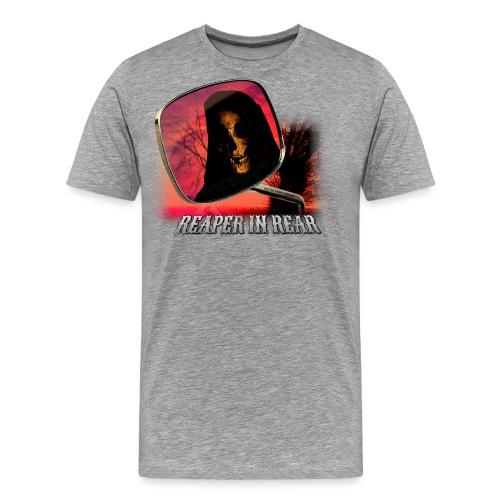 Reaper in Rear - Men's Premium T-Shirt